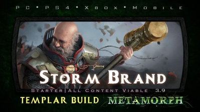 PoE 3.9 Templar Storm Brand Inquisitor Starter Build