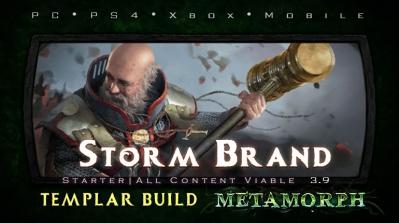 PoE 3.9 Templar Storm Brand Inquisitor Starter Build (PC,PS4,Xbox,Mobile)