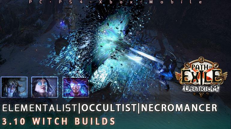 [3.10] PoE Delirium Witch Starter Endgame Build