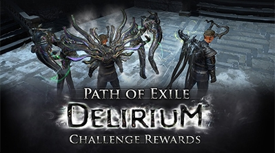 PoE Delirium Challenge Rewards Preview