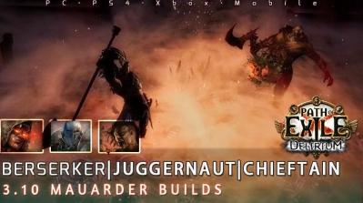 [3.10] PoE Delirium Mauarder Starter Endgame Build
