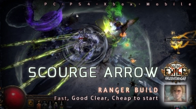 [3.10] PoE Delirium Ranger Scourge Arrow Pathfinder Fast Build