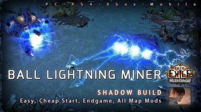 [3.10] PoE Delirium Shadow Ball Lightning Mine Saboteur Starter Build