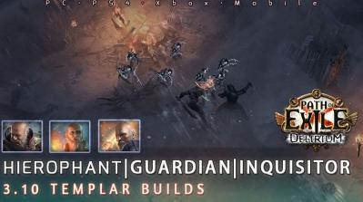 [3.10] PoE Delirium Templar Starter Endgame Build