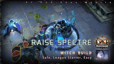[3.10] PoE Delirium Witch Raise Spectre Necromancer Starter Build