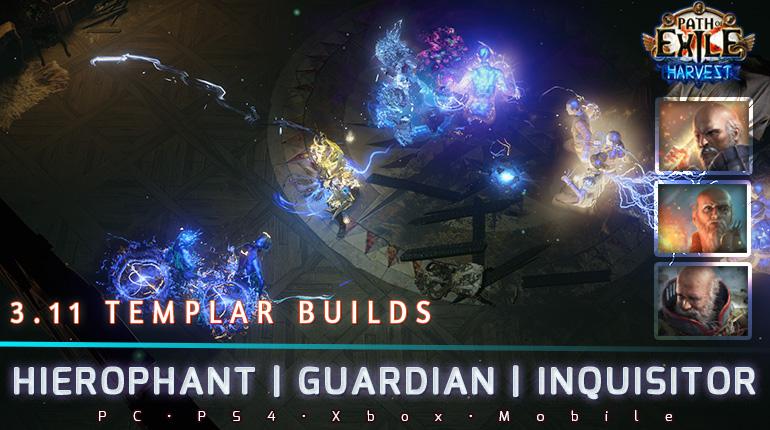 [Harvest] PoE 3.11 Templar Top Starter Builds
