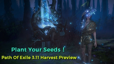 Path Of Exile 3.11 Harvest Preview - Plant Your Seeds