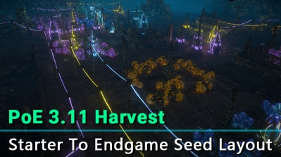 PoE 3.11 Harvest Seed Layout - Starter to Endgame