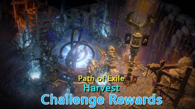 PoE Harvest Challenge Rewards - Footprints, Cloak and Portal!