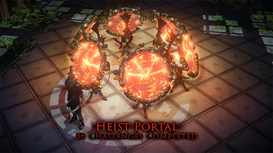 Path of Exile Heist All Challenge Rewards