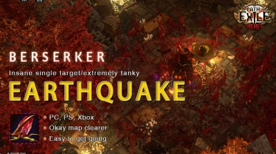 [3.12] PoE Heist Berserker Earthquake Mauarder Facetank Build (PC,PS4,Xbox,Mobile)