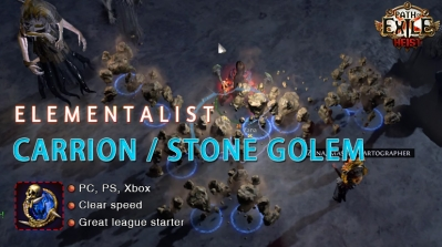 [3.12] PoE Heist Elementalist Summon Golem Witch Starter Build (PC,PS4,Xbox,Mobile)