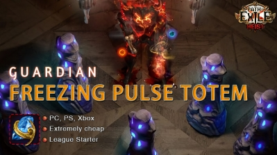 [3.12] PoE Heist Hierophant Freezing Pulse Totem Templar Easy Build