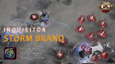 [3.12] PoE Heist Inquisitor Storm Brand Templar Build (PC,PS4,Xbox,Mobile)