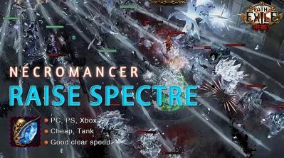 [3.12] PoE Heist Necromancer Raise Spectre Witch Beginner Build
