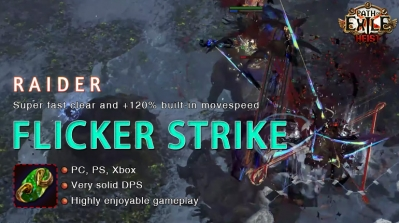 [3.12] PoE Heist Raider Flicker Strike Ranger Fast Build