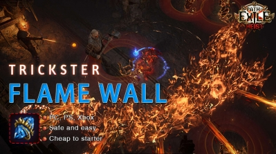 [3.12] PoE Heist Trickster Flame Wall Shadow Starter Build
