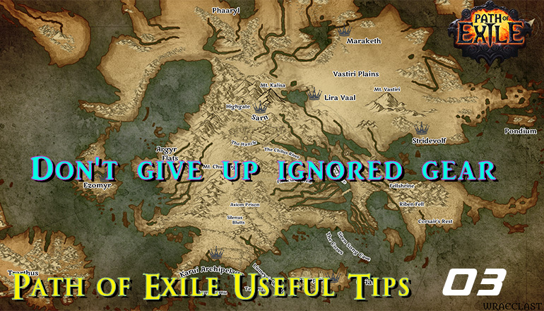 Path of Exile Useful Tips 03 - Don