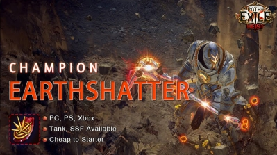 [3.12] PoE Heist Champion Earthshatter Duelist Starter Tank Build