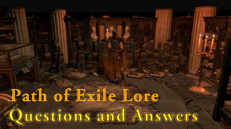 Path of Exile Lore - Part One