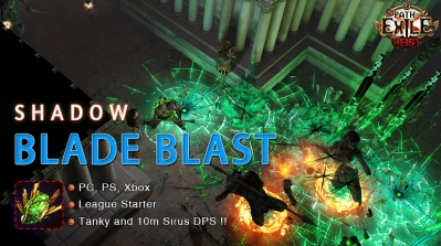 [3.12] PoE Heist Assassin Blade Blast Shadow Starter Build