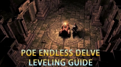 PoE Endless Delve Leveling Guide -  All The Details You Should Know
