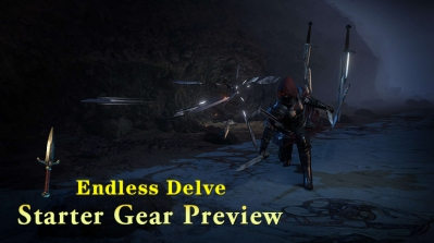 PoE Endless Delve Starter Gear Preview
