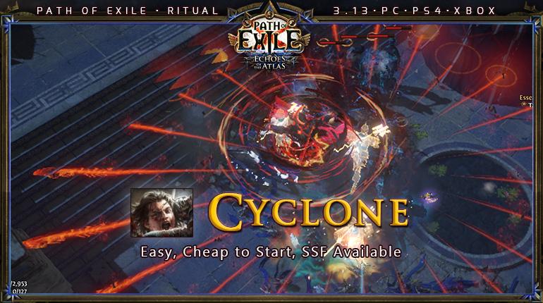 Ritual Poe 3 13 Duelist Slayer Cyclone Starter Build Pc Ps4 Xbox Poecurrencybuy Com