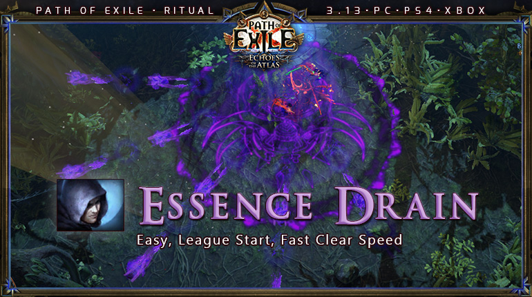Ritual Poe 3 13 Shadow Trickster Essence Drain League Starter Build Pc Ps4 Xbox Poecurrencybuy Com