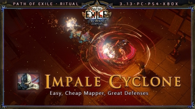 [Ritual] PoE 3.13 Duelist Champion Impale Cyclone Starter Build
