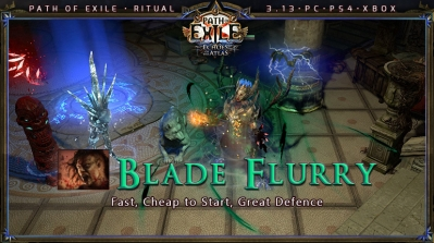[Ritual] PoE 3.13 Mauarder Berserker Blade Flurry Starter Build (PC,PS4,Xbox)