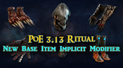 PoE 3.13 Ritual New Base Item Implicit Modifiers