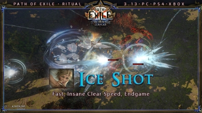 [Ritual] PoE 3.13 Ranger Deadeye Ice Shot Fast Build