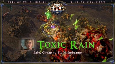 [Ritual] PoE 3.13 Ranger Pathfinder Toxic Rain Beginner Build (PC,PS4,Xbox)