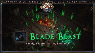 [Ritual] PoE 3.13 Shadow Assassin Blade Blast Starter Build (PC,PS4,Xbox)