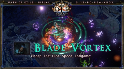 [Ritual] PoE 3.13 Shadow Assassin Poison Blade Vortex Beginner Build (PC,PS4,Xbox)