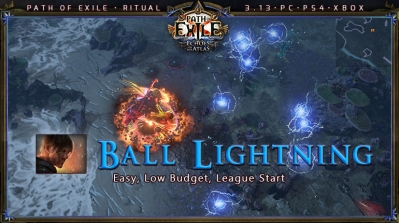 [Ritual] PoE 3.13 Shadow Saboteur Ball Lightning Mine Starter Build (PC,PS4,Xbox)