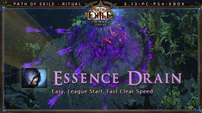 [Ritual] PoE 3.13 Shadow Trickster Essence Drain League Starter Build (PC,PS4,Xbox)