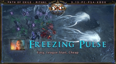 [Ritual] PoE 3.13 Templar Hierophant Freezing Pulse Totem Starter Build (PC,PS4,Xbox)