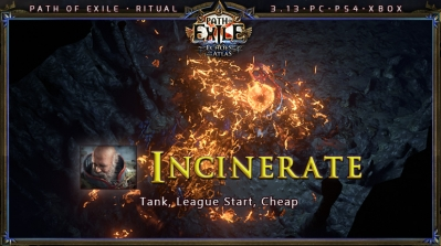 [Ritual] PoE 3.13 Templar Inquisitor Incinerate Tank Build (PC,PS4,Xbox)