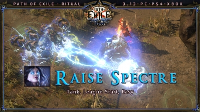 [Ritual] PoE 3.13 Witch Necromancer Raise Spectre League Starter Build (PC,PS4,Xbox)