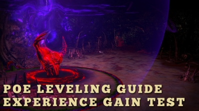 PoE Leveling Guide Experience Gain Test
