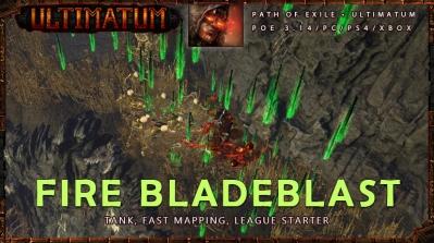[Ultimatum] PoE 3.14 Chieftain Bladeblast Starter Mauarder Build