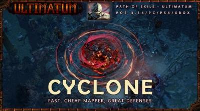 [Ultimatum] PoE 3.14 Champion Cyclone Beginner Duelist Build