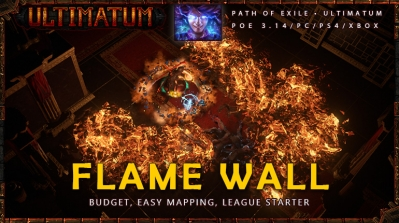 [Ultimatum] PoE 3.14 Elementalist Flame Wall Witch League Starter Build