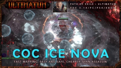 [Ultimatum] PoE 3.14 Inquisitor CoC Ice Nova Temple Endgame Fast Build