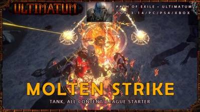 [Ultimatum] PoE 3.14 Juggernaut Molten Strike Easy Mauarder Build