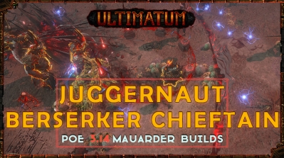 PoE 3.14 Ultimatum Mauarder League Starter Builds