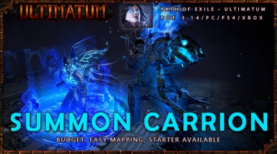 [Ultimatum] PoE 3.14 Necromancer Summon Carrion Witch Budget Build