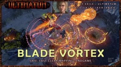 [Ultimatum] PoE Pathfinder Blade Vortex Fast Endgame Ranger Build
